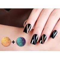 Buy cheap Odorless 5D Cat Eye Magnetic Nail Polish With GMP Cert / Led Nail Gel Polish from wholesalers
