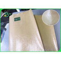 Buy cheap Greaseproof Brown Single And Double Side Food Grade PE Coated Paper For Fast from wholesalers