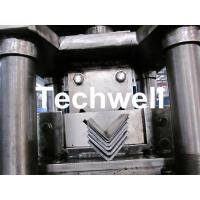 Quality Steel Angle / L Profile Cold Roll Forming Machine With Manual Decoiler for G.I. Steel Coil for sale