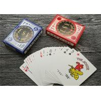 Quality German Casino Playing Cards Offset Printing 310gsm Black Core Paper for sale