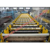 Buy High Speed Metcoppo Step Roof Tile Roll Forming Machine 220V / 380V at wholesale prices