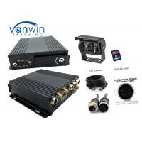 Quality High Resolution 1080P SDI  card  4 Channel Mobil DVR for  Bus Camera Surveillance System for sale
