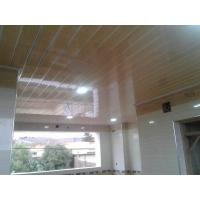 Quality Light Weight PVC Wood Panels , Interior Pvc Cladding For Office / Hospital for sale