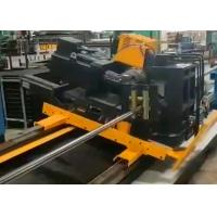 Quality Servo motor drive effective cut smooth cut cold saw for tube mill line for sale