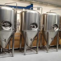 China Double Beer Fermenter Beer Fermentation Tank Use For Brewery Brewhouse for sale