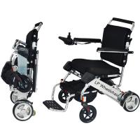 Quality Lightweight Handicapped Folding Electric Wheelchair for sale