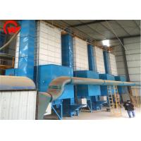 Quality 10 - 30 Ton Per Day Small Grain Dryer Machine Custom Color 12 Months Warranty for sale