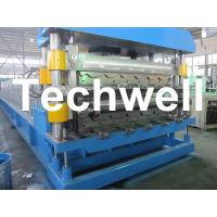 Buy Double Layer Roof Wall Panel Cold Roll Forming Machine for Two Different Roof Panels at wholesale prices