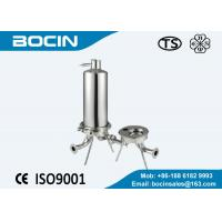 China 0.2 - 50 microns stainless steel cartridge filter for small flow rate condition on sale