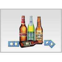 China Beer Label Vacuum Metallized Paper Laminate Sheets Chemical Type , Width 200mm-2000mm on sale