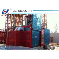 China Building Hoist Modern SC200/200 Twin Cages Construction Elevator Lift for sale on sale