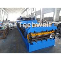 Quality IBR / Corrugated Sheets Dual Level Cold Roll Forming Machine With 5 Ton Manual Uncoiler for sale