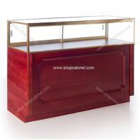 Quality Shop display counter glass cabinet for jewelry for sale