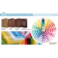 The paint and color selection for showcase