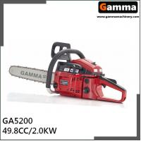 Buy cheap chainsaw 5200, gasonline chain saw, Oregan guide bar, 49.8cc displacement from wholesalers