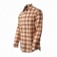 Quality Men's Plaid Shirt, Comfortable to Wear, Fashionable, UV-stop, Quickly Dry, Long Sleeves for sale