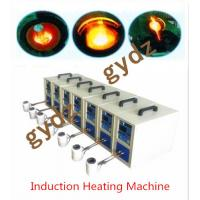 Quality 15KW IGBT High Frequency Induction Heating Machine for melting 1~5KG gold for sale