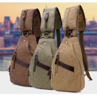 Buy cheap Summer Cross Body Single Strap Backpack Large Capacity With Cotton Canvas from wholesalers