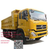 China Dongfeng 375hp dump truck tipper truck dongfeng dump truck on sale