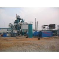 Quality 710m 2 Filtering Area Air Back Flushing Type Bitumen Hot Mix Plant With WAM Screw Conveyor for sale
