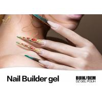 Quality Strong Adhesion Thick Uv Gel Nail Builder For Extend Nails Jelly Gel Long Stay for sale