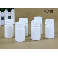 40 Ml Plastic Tablet Bottles Tablet Container For Medicine Capsule Pill