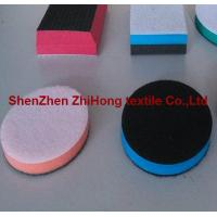 Quality Customized Hook Loop Fastener Holder Polishing Pad's blocks With foam for sale