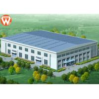Quality Prefab Two Story Steel Structure Warehouse For Feed Mill Industry for sale