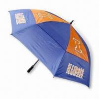 Quality 30 Inches Double-layer Golf Umbrella with Windproof Function for sale