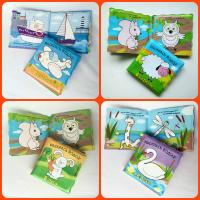 Quality Washable Baby Bath Book with Colorful Logo Printing for sale