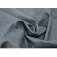 Quality Black Stone Washed Woven Cotton Canvas Excellent Softness And Flexibility for sale
