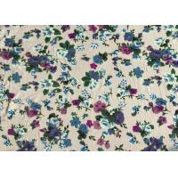 Quality Professional Viscose Rayon Fabric Floral Apparel Fabric 118D+20D for sale