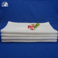 Quality Terry 145g White Cotton Face Towel for sale