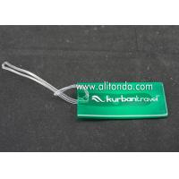 Quality Plastic PP Hard PVC luggage tag custom voltage luggage tag supply card shape luggage tag manufacturer for sale
