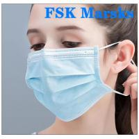 Quality Medical Non Woven Face Mask Protection Against Virus With Melt Blown Cloth for sale