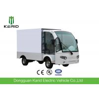 Quality Stainless Steel Container Electric Cargo Van With 2 Seats Customized Dimension for sale