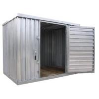 China 6x4ft metal garden shed with deep rool-formed wall on sale