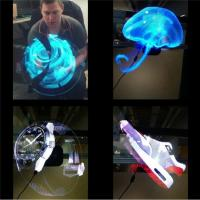 Quality Electronic Hologram Projector 3D LED Holographic Advertising Display Fan 42cm Diameter for sale