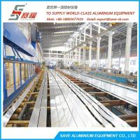 China Aluminium Profile Extrusion Efficient Air Cooling Run-out Area on sale