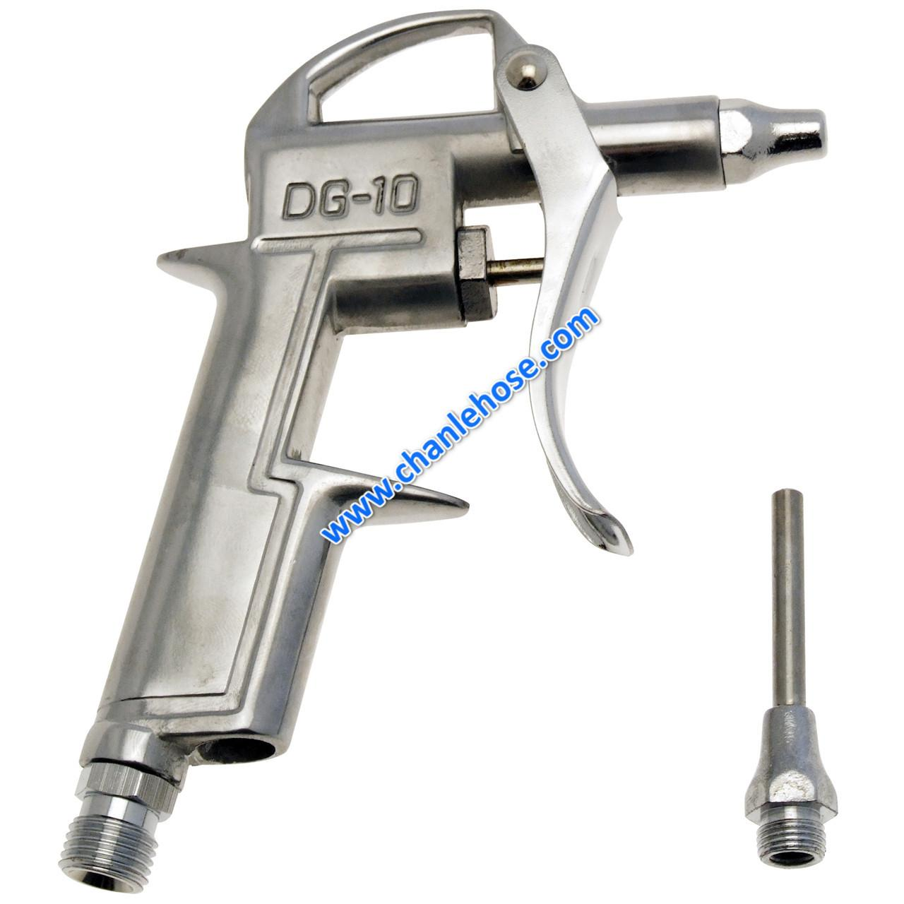 Quality compressed air blow gun, DG-10 metal body, air duster for sale
