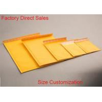 Quality 2 Sealing Sides Kraft Paper Bubble Mailers 7*8'' Matt Surface Self Adhesive Seal for sale