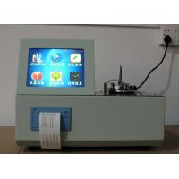 Buy cheap 5208D Automatic Low Temperature Closed Mouth Flash Point Tester from wholesalers