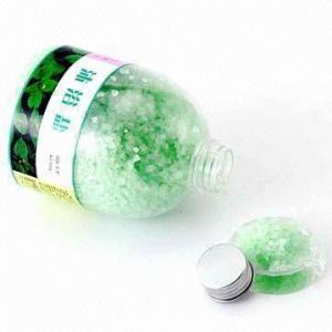 Quality 550g Natural Mineral Bath Salt in Plastic Bottle for sale