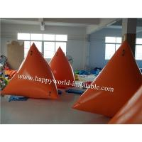 Quality Inflatable floating triangle , inflatable floating cube for sale