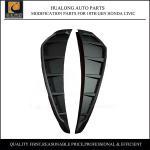 Quality Side Fender Vent Cover for 10th Gen Honda Civic Plastic Black for sale