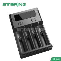 Quality NEW NITECORE i4 Charger Battery for AA AAA 18650 14500 16340 26650 Li-ion Ni-MH for sale