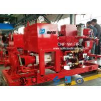 Quality 500GPM / 200PSI Diesel Engine Driven Fire Pump With Air / Water Cooling for sale