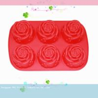 Quality environment protective Silicone Cake Moulds With LFGB certification for sale