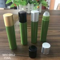 Quality free samples  plastic cosmetic 35ml roll on bottle for sale
