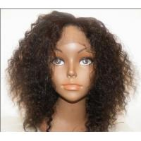 Quality Glueless Full Silk Blonde Human Hair Wigs / Brazilian Lace Front Wigs for sale